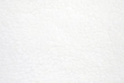 White Anti Pill Solid Fleece Fabric, 150cm Inches Wide - Sold By The Yard