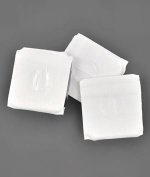 2.5cm Vinyl Covered Drapery Weights - 10 Pack