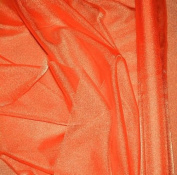 Orange Sparkle Organza Fabric 150cm By the Yard