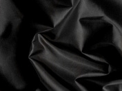 Black Silky Habutae Lining Fabric 150cm By the Yard