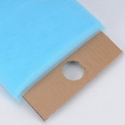 Light Blue Glimmer Tulle Fabric 15cm 25 Yards