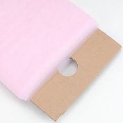 Light Pink Glimmer Tulle Fabric 15cm 25 Yards