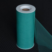 Premium Tulle on Spool (15cm Wide x 25 Yards Long) - Forest Green