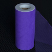 Premium Tulle on Spool (15cm Wide x 25 Yards Long) - Purple