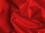 Red Silky Habutae Lining Fabric 150cm By the Yard