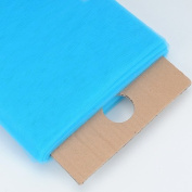Turquoise Glimmer Tulle Fabric 15cm 25 Yards