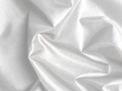 White Silky Habutae Lining Fabric 150cm By the Yard