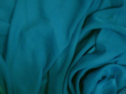 Teal Green Chiffon Fabric 110cm By the Yard