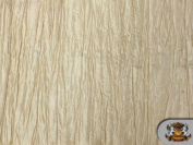 Taffeta Crushed Beige 120cm Wide / Sold By the Yard