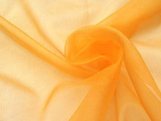 Orange Mirror Organza Fabric 150cm /150cm x 1yd