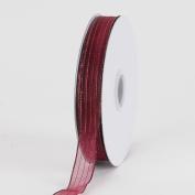Burgundy Corsage Ribbon 1cm 50 Yards