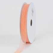 Peach Corsage Ribbon 1cm 50 Yards