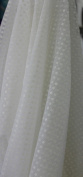 SMALL DOT CONFETTI SEQUIN FABRIC 110cm WIDE SOLD BY THE YARD WHITE