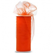 Tulle 15cm . x 50 Yards~ Orange