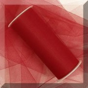 Tulle 15cm . x 50 Yards~ Red
