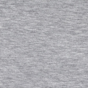 Stretch Jersey Knit Light Grey Fabric