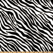 Call of the Wild Zebra Black/White Fabric