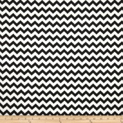 Chevron Black Fabric