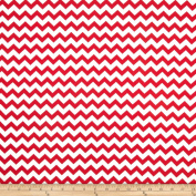 Chevron Red Fabric