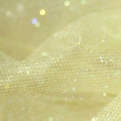 Stardust Tulle Netting Fabric - Gold - per metre