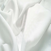 Crafty Cuts 2-Yards Cotton Fabric, White Solid