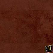 Genuine Vintage Suede Fabric - 150cm Wide - Brick