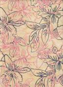 Benartex Keepsake Bali Batik Pale Gold Deseree Batik 4701B-39 Quilt Fabric 100% Cotton 110cm Wide - HALF YARD