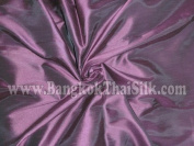 Caprice Faux Silk Plum Fabric
