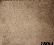 """150cm MICRO SUEDE FABRIC """"BUCKSKIN"""" FOR UPHOLSTERY (PASSION SUEDE) BTY"""