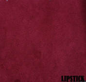 "150cm MICRO SUEDE FABRIC ""LIPSTICK"" FOR UPHOLSTERY (PASSION SUEDE) BTY"