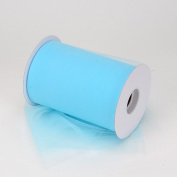 Light Blue Nylon Tulle 15cm 100 Yards