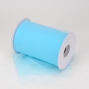 Light Blue Nylon Tulle 15cm 100 Yards