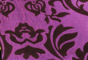 DAMASK FLOCKED TAFFETA FABRIC 150cm /150cm WIDE BY THE YARD MAGENTA/MAGENTA