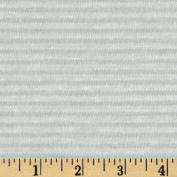 Designer Rayon Tissue Jersey Knit Stripes Tonal Paper White Fabric