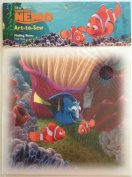 "Finding NEMO Art-to-sew 20cm Cotton Fabric Print Square ""FINALLY HOME""..."