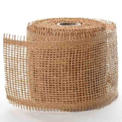 100% Natural Mesh Ribbon for Accenting, Embellishing and Crafting- 11cm Wide and 10 Yards Long