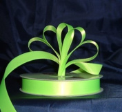Ribbon - Satin Ribbon- 1.6cm Single Face 50 Yards (150 FT) - Lime Green - Sewing - Craft - Wedding Favours