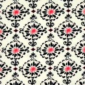 Free Spirit Dena Designs London Cotswold Pink, 43-inch (109cm) Wide Cotton Fabric Yardage