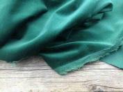 Bottle Green Light weight Dressmaking Velvet / Velveteen - 110cm - 210ml/yd²