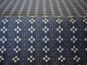 Cotton woven fabric pattern Kurume colour : Chequered blue