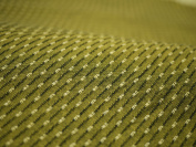 Cotton woven fabric pattern Kurume colour : Hail Mossgreen