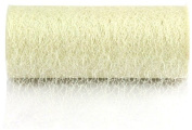 Kel-Toy Sparkle Mesh Craft Fabric, 15cm by 10-Yard, Ivory