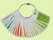 Swatch Buddies Steel Ring Set - 24 Reusable Fabric Swatch Cards