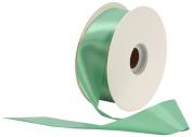 Offray Single Face Satin Craft 1cm by 100-Yard Ribbon Spool, Peapod