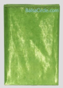 70cm x 6 yards Light Green (Kiwi) Sheer Organza