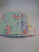Flower Design 3pc Unstitched Fabric