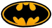 Batman Superhero Embroidered iron-on/sew-on patch