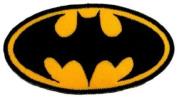 Batman Superhero Embroidered iron-on/sew-on patch