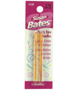 Susan Bates Crystallites Plastic Yarn Needle, 7cm , 2 Per Package