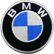 Bmw Motor Car Bike Racing Motorcycle Iron Jacket Iron on Patch